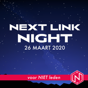 Product afbeelding Next Link Night (voor niet leden) - Business Club Next Link